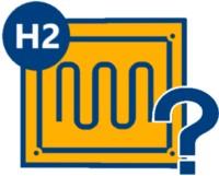 Icon einer Brennstoffzellenheizung