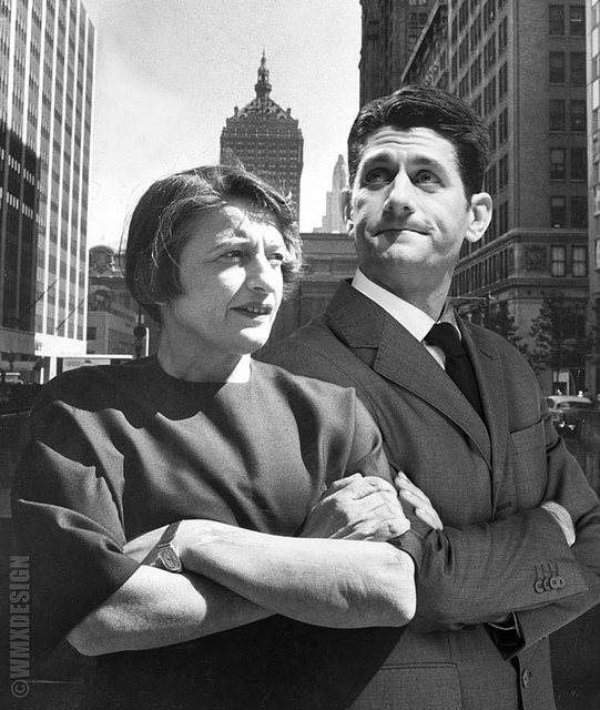 paul ryan ayn rand