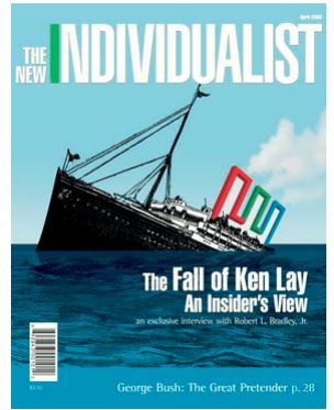 new indivdualist fall of ken lay enron
