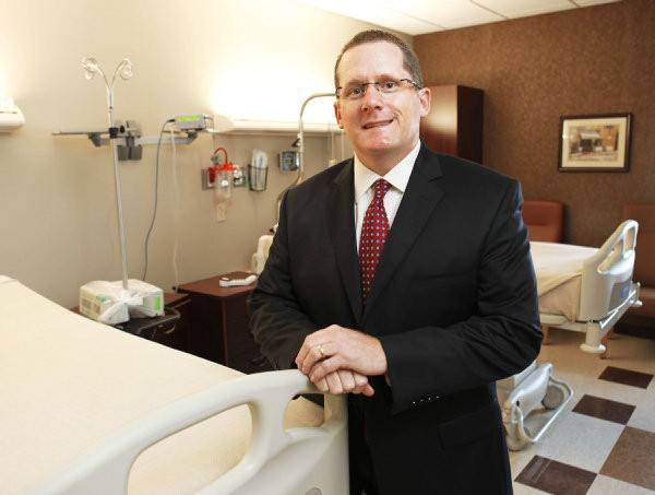 Mark Galliart, CEO of McBride Orthopedic Hospital