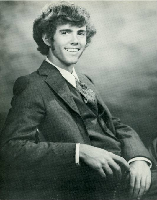 The author, during his Kinkaid years.