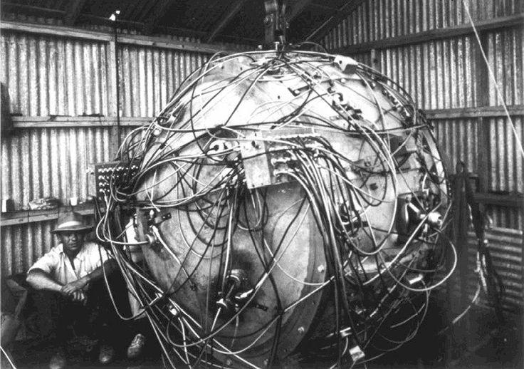 Atom bomb las alamos