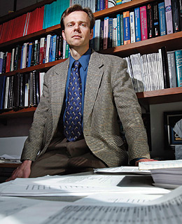 Accounting professor Erik Lie
