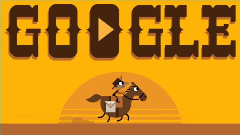 pony express intro screen