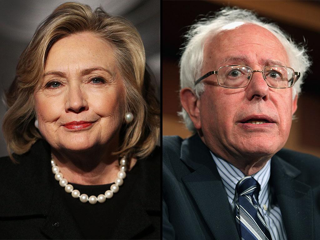 hillary clinton bernie sanders 2016 presidential race