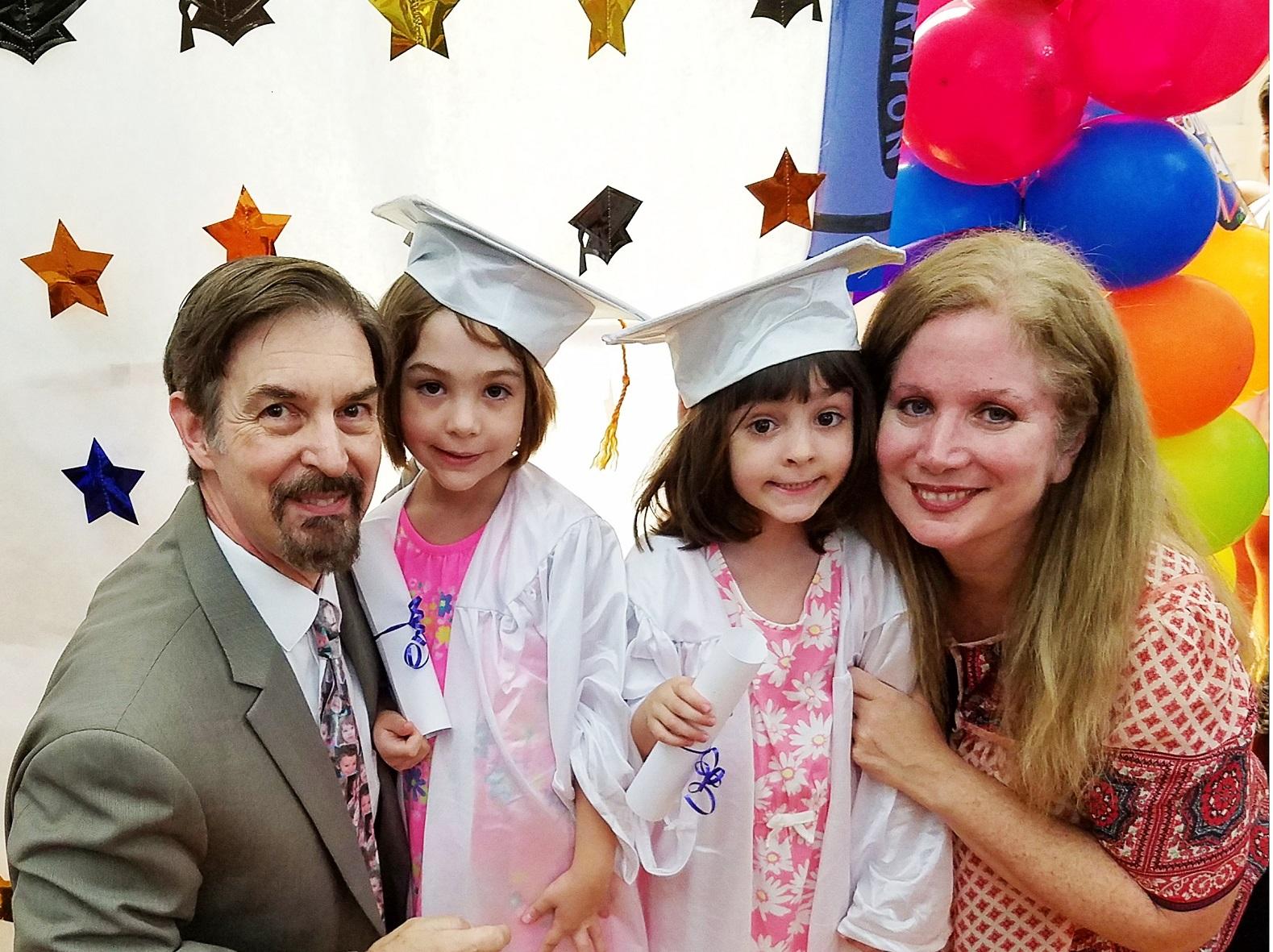 Twins graduation small