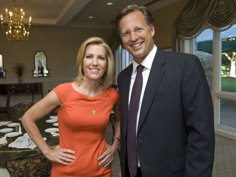 David Brat with talk radio host and author Laura Ingraham
