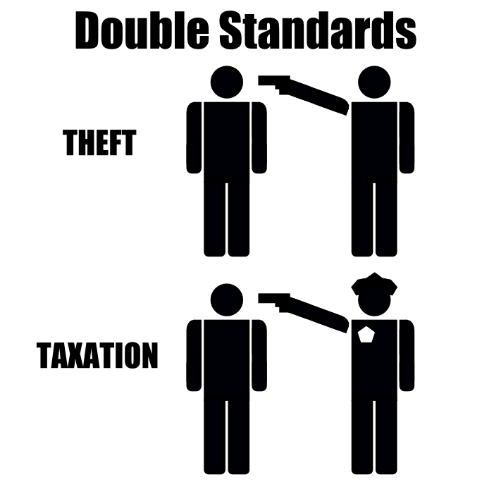 Tax Double Standards Theft Taxation
