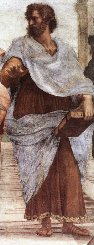 "Aristotle, from ""The School of Athens"" by Raphael"