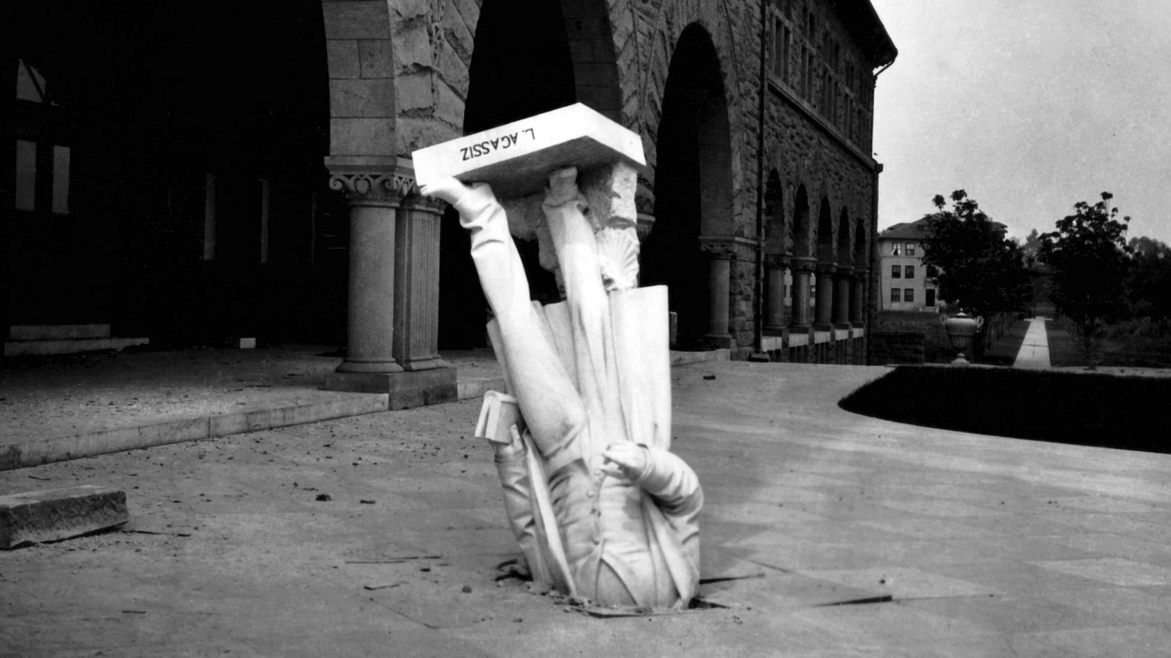 Louis Agassiz Statue
