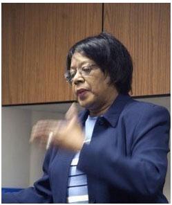Sociology professor Anne Wortham