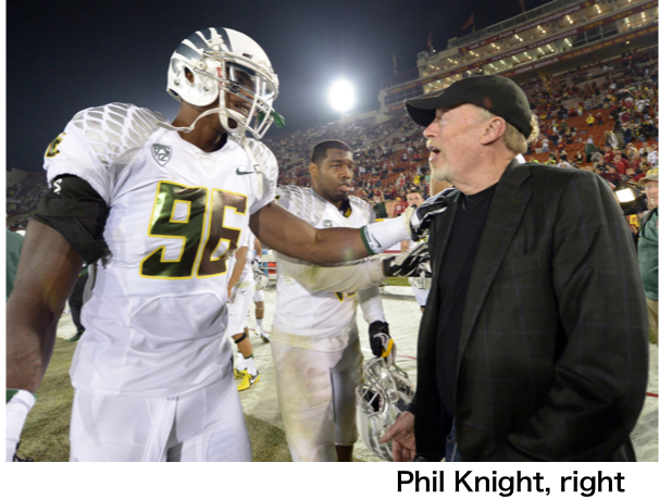 Phil Knight Nike 2 philanthropy