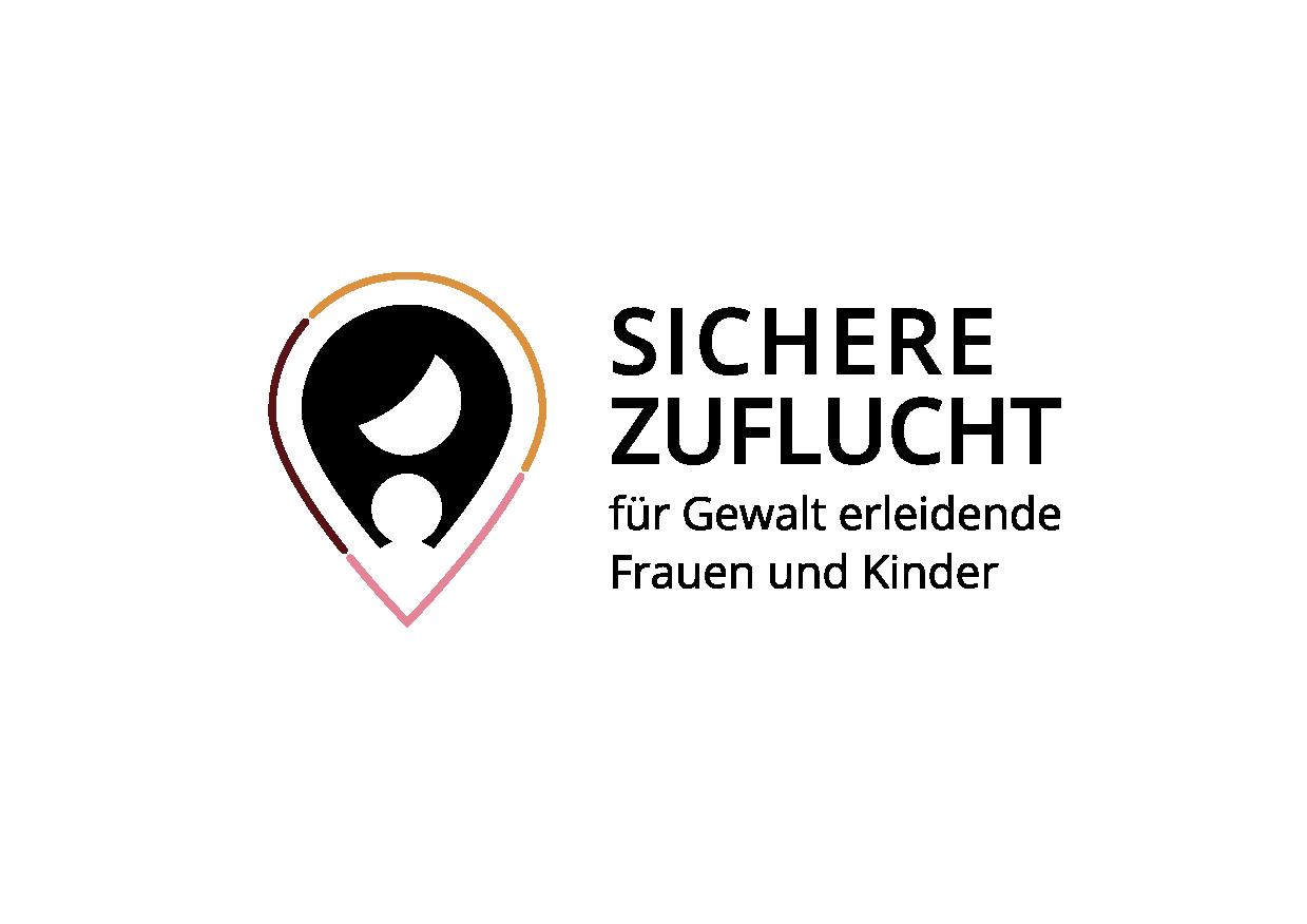 Logo –Sichere Zuflucht – eine Plattform für die Vermittlung von Wohnungen an Frauenhäuser