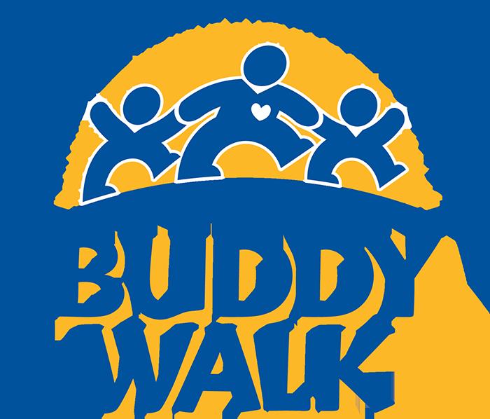 National Down Syndrome Society Buddy Walk logo