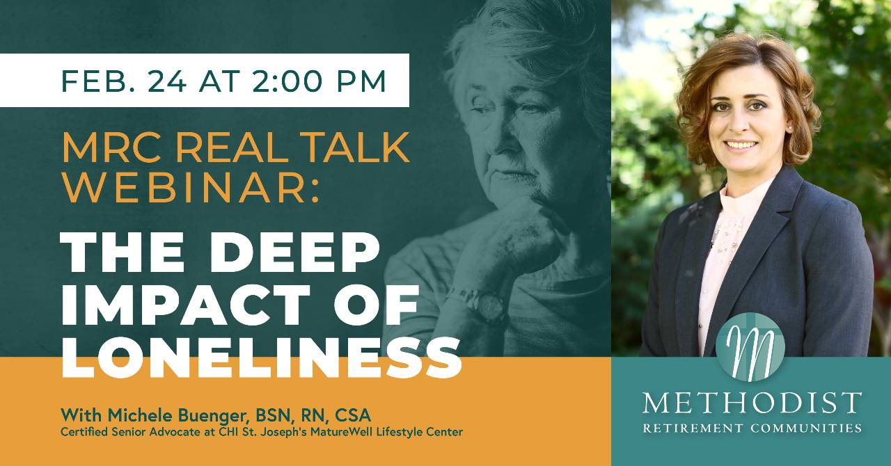 MRC REAL TALK WEBINAR - The Deep Impact of Loneliness