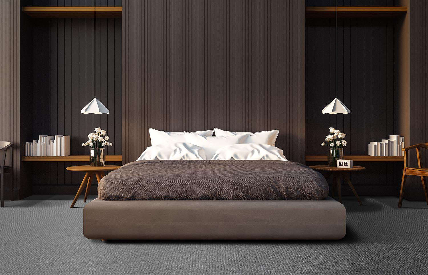 Co-Exist - Balanced Being contemporary bedroom