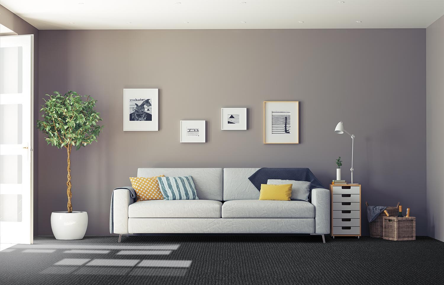 Co-Exist - Duality classic living room
