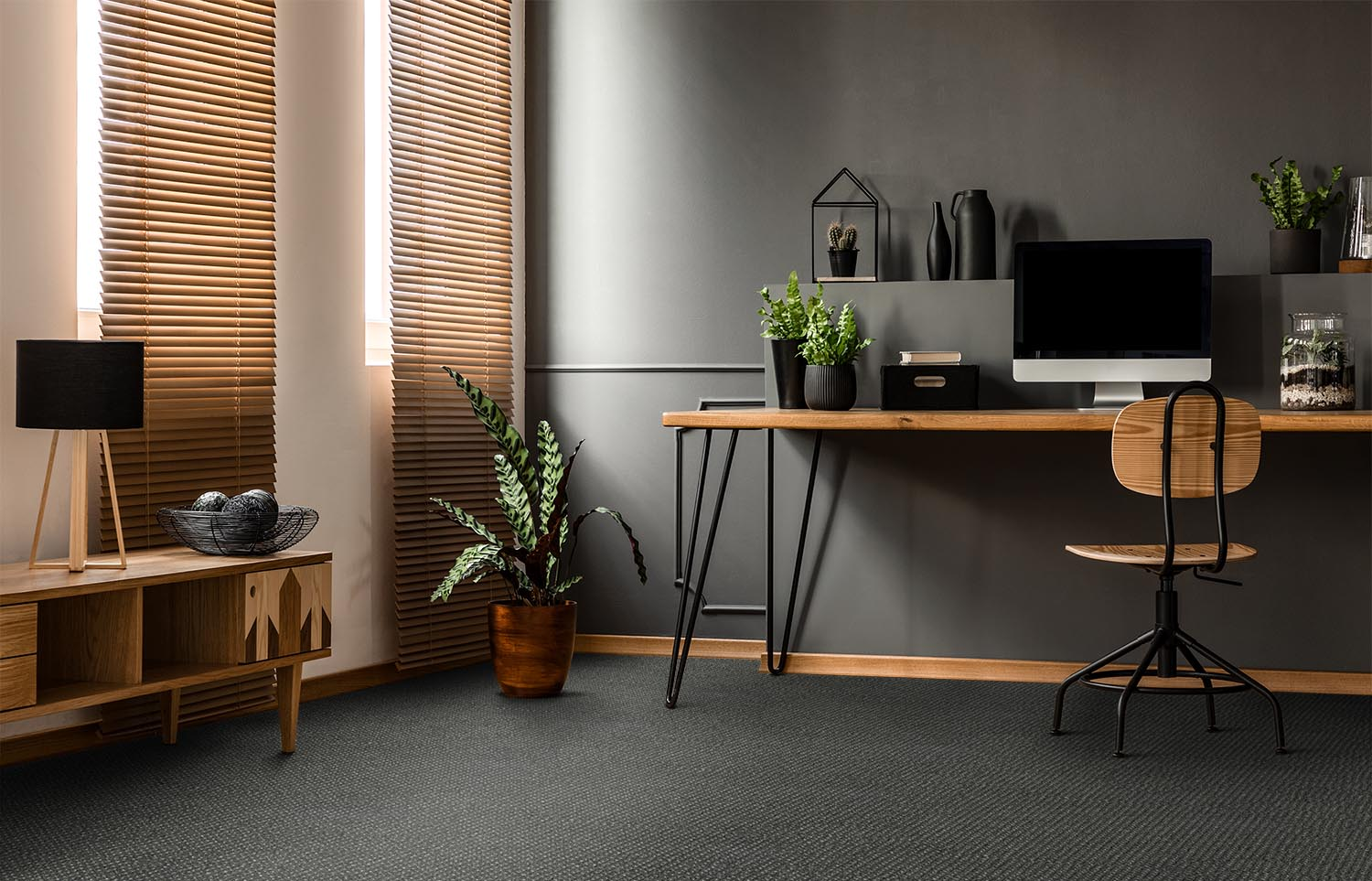 Co-Exist - Seamless Speckle home office