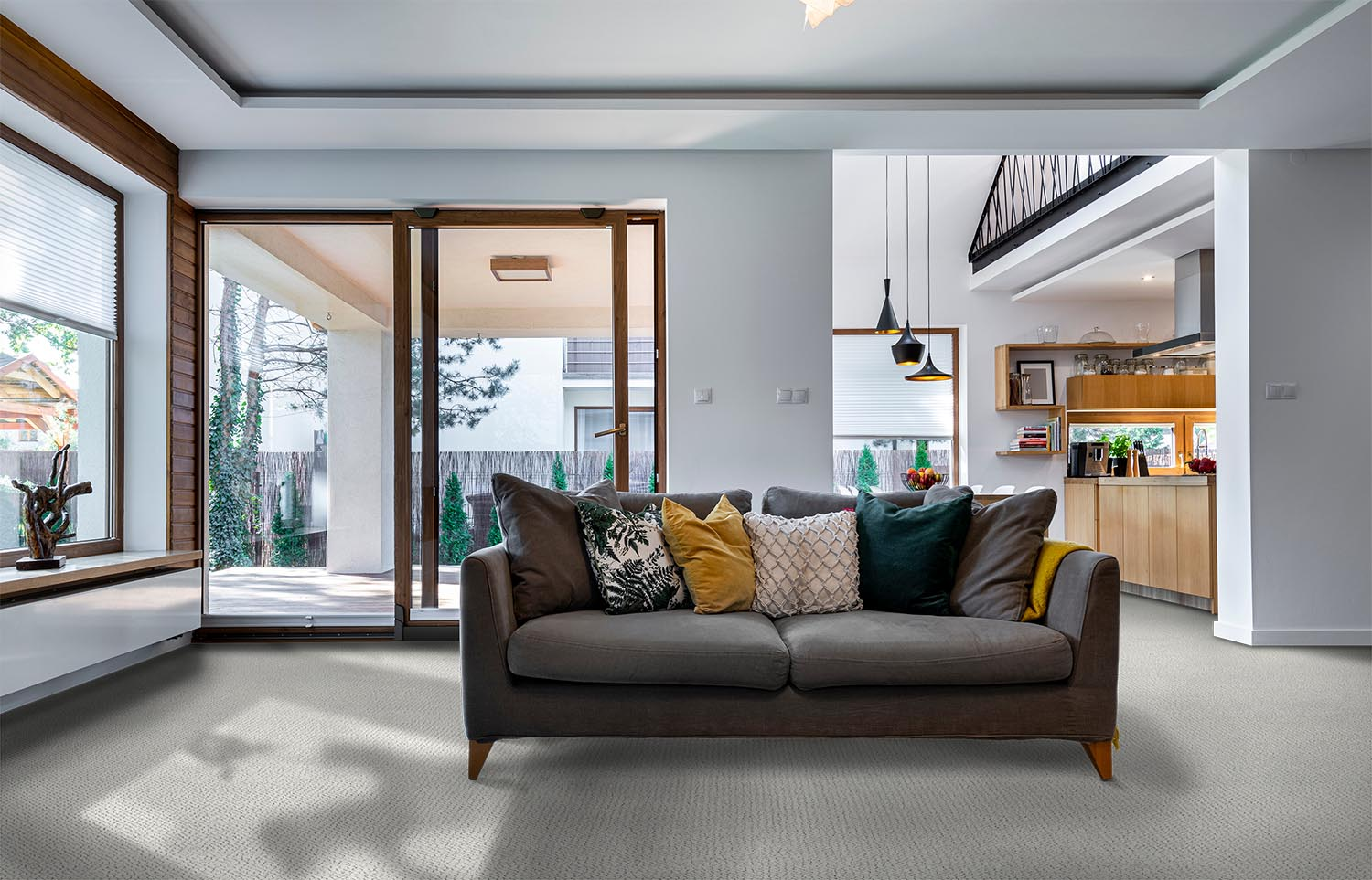 Immerse - Absorb contemporary living room