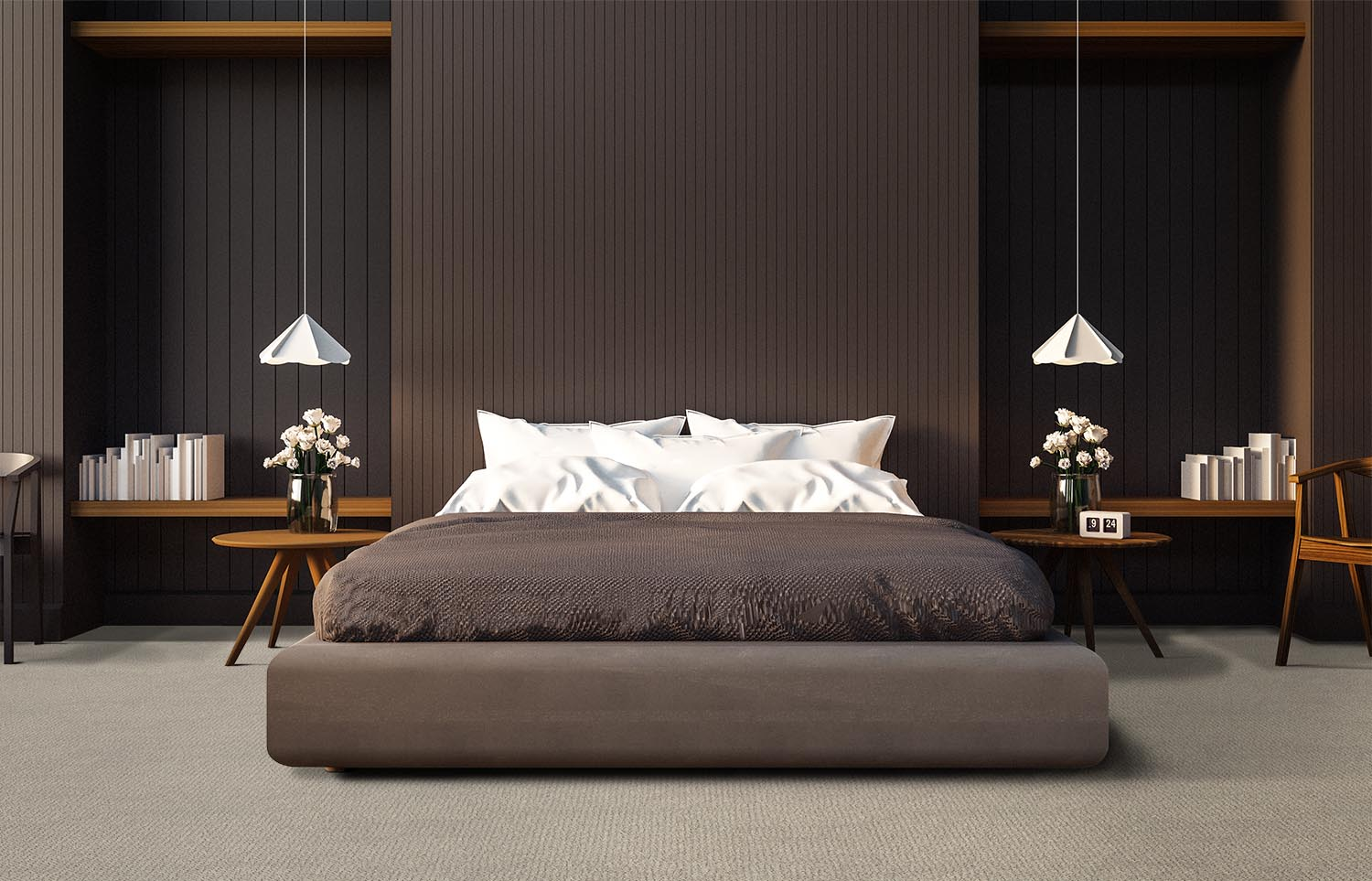 Immerse - Dipped contemporary bedroom