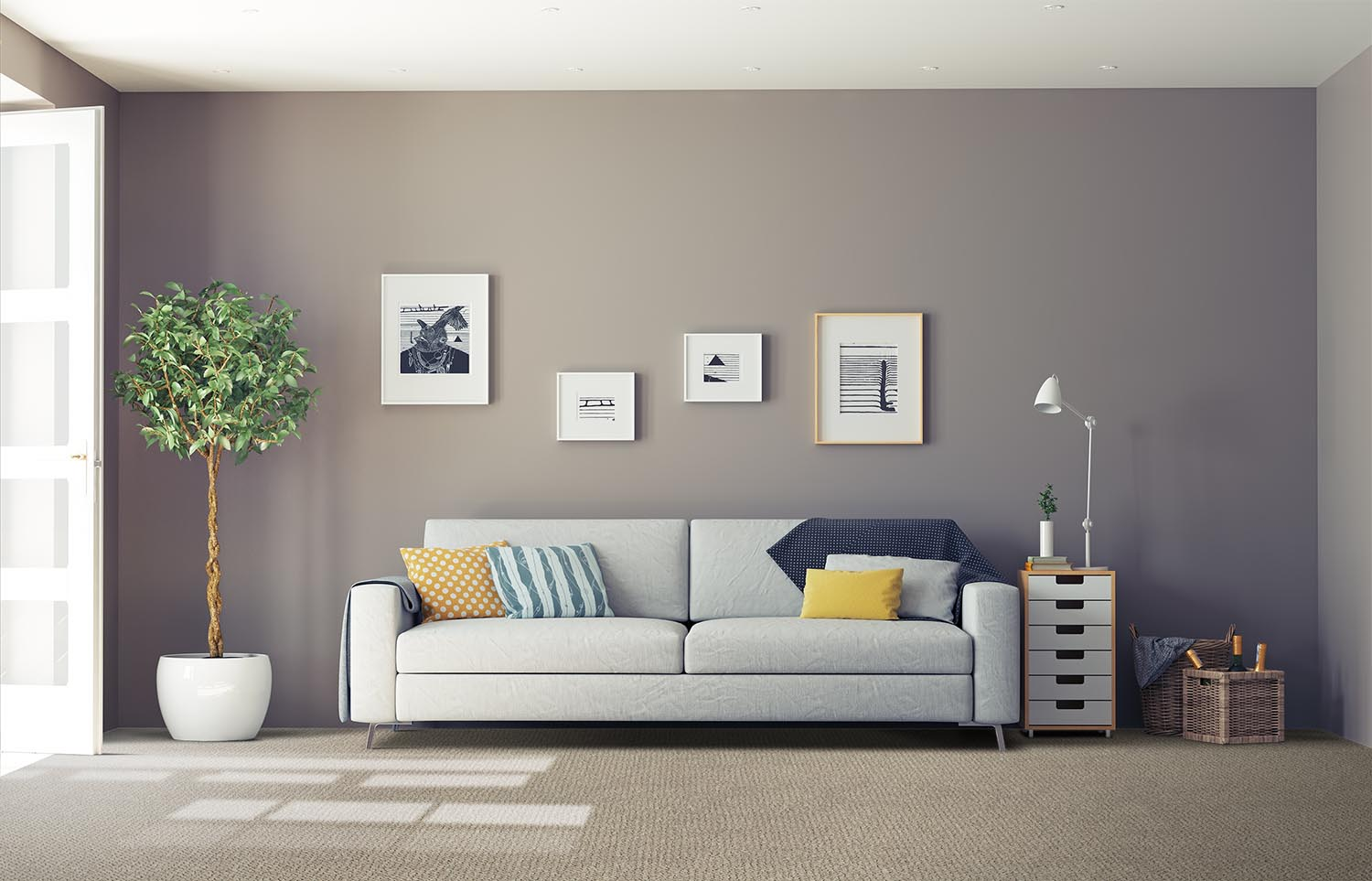 Immerse - Dipped classic living room