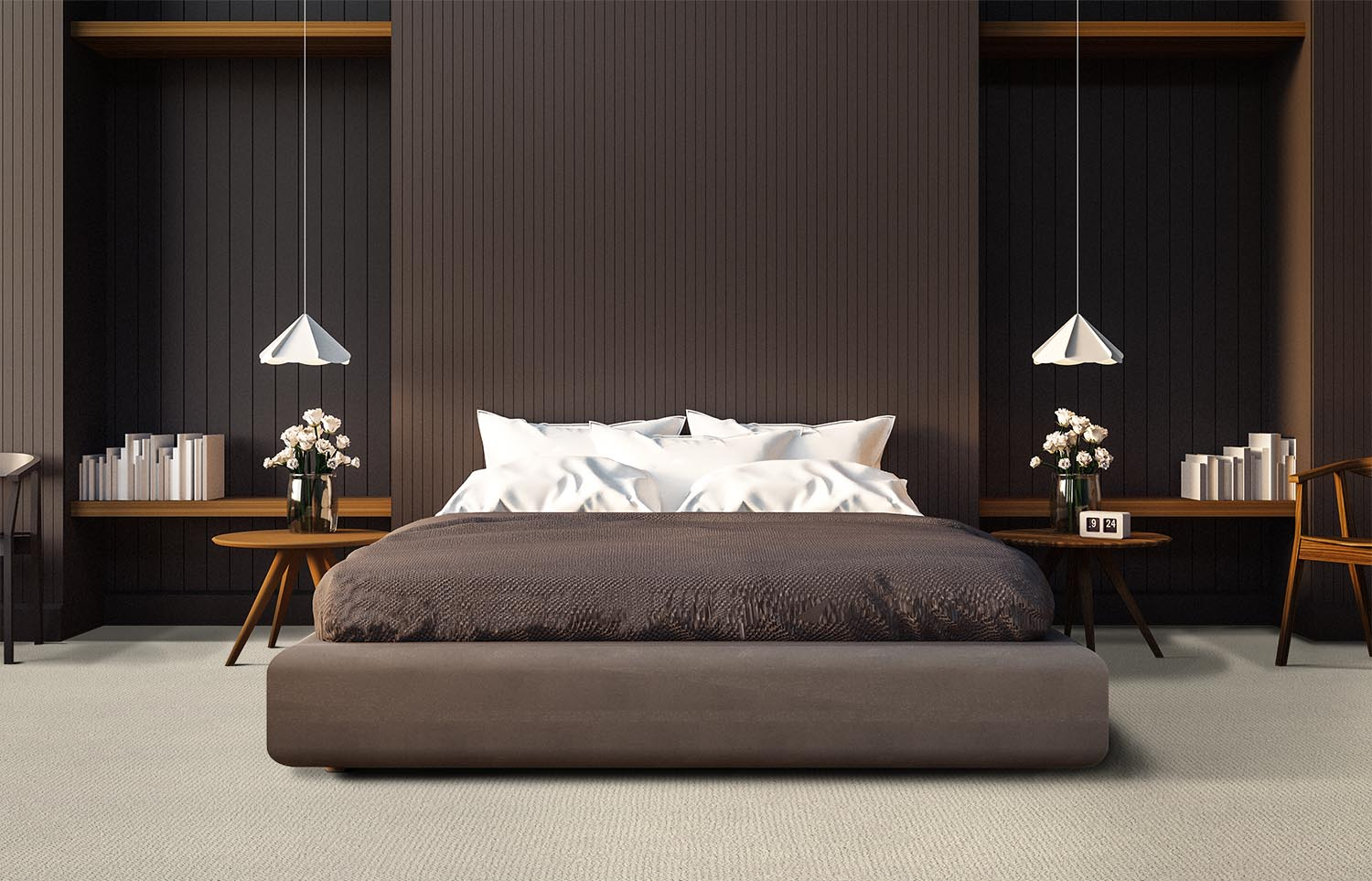 Immerse - Dive Off contemporary bedroom
