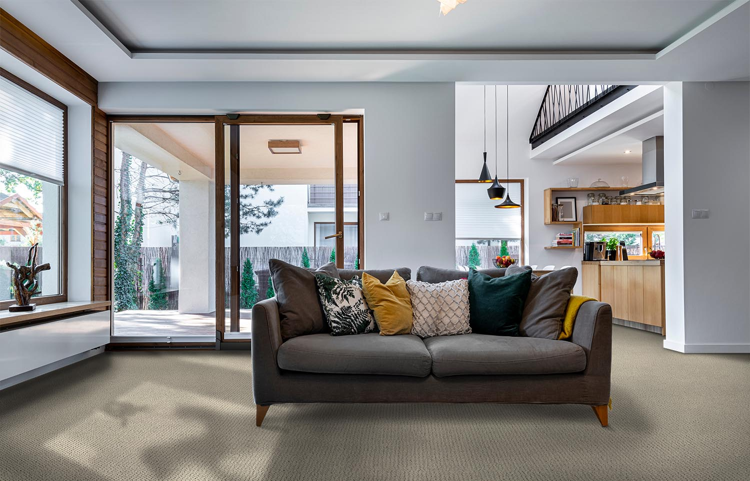 Immerse - Dive Off contemporary living room