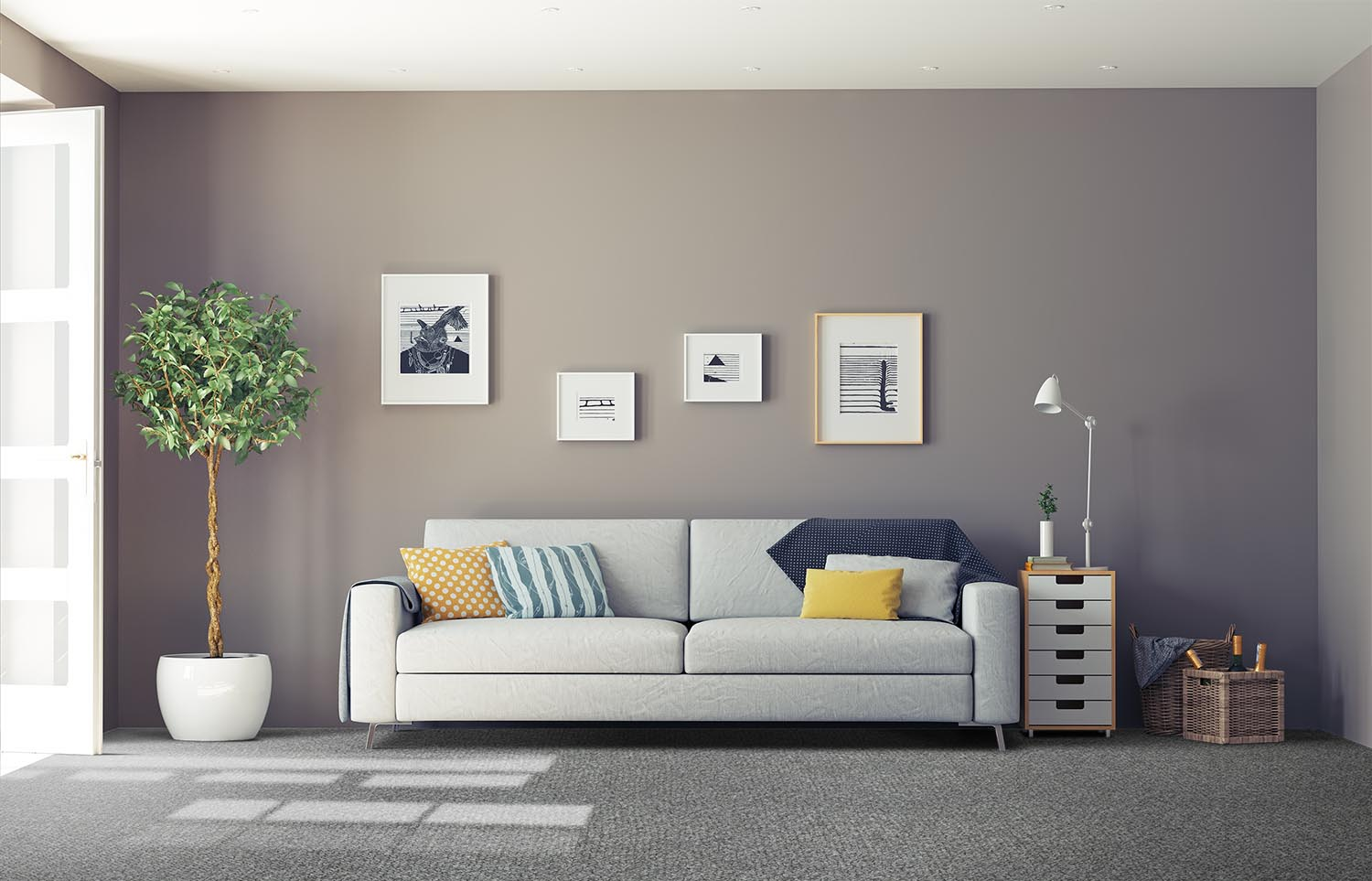 Immerse - Plunged classic living room