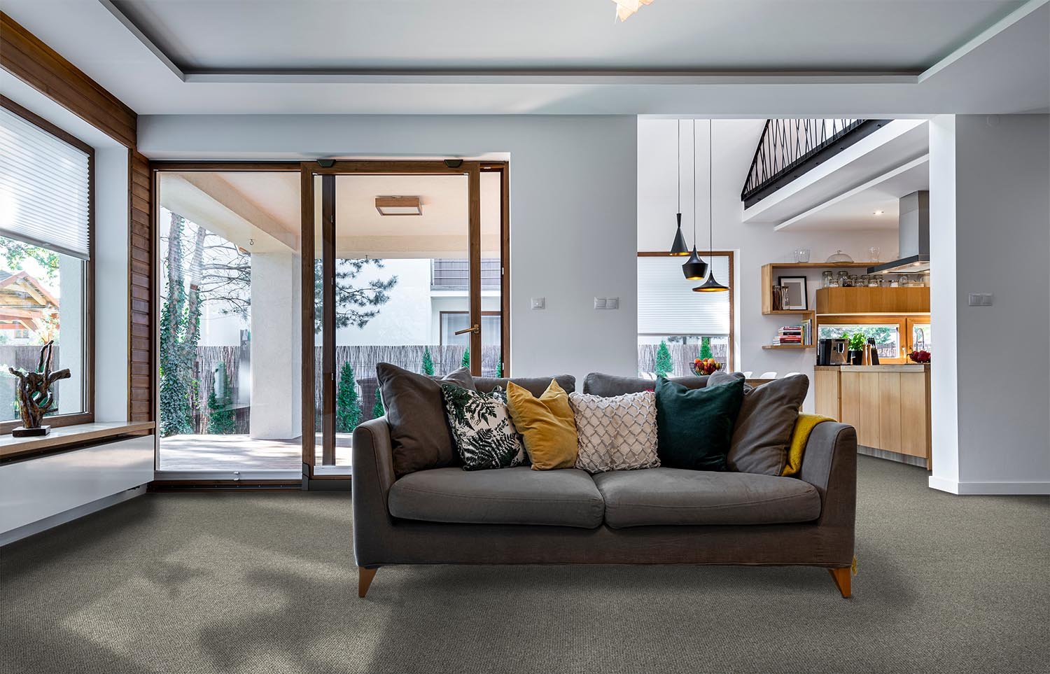 Inclusive - Count On contemporary living room