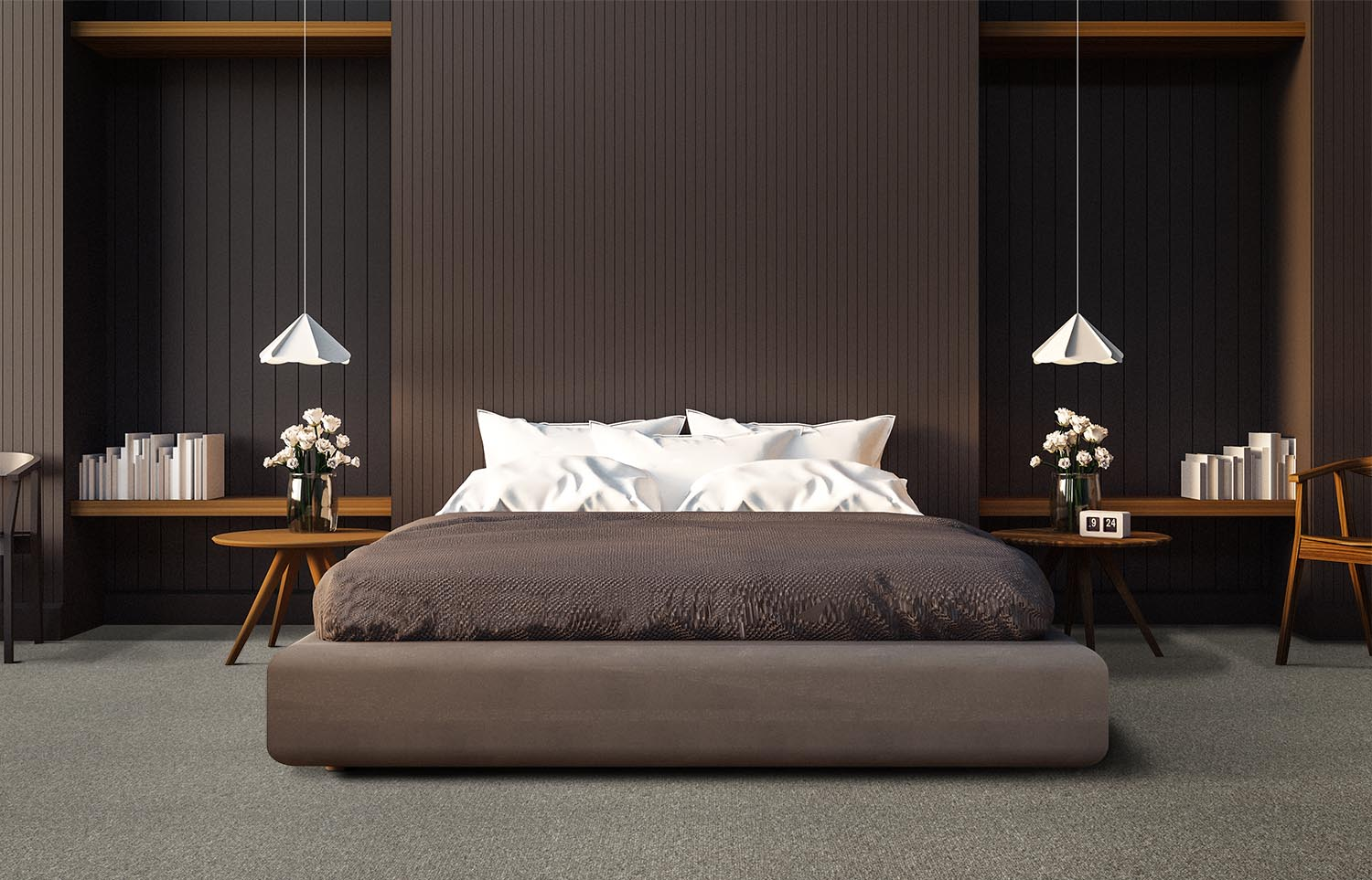 Influence - Gather Round contemporary bedroom