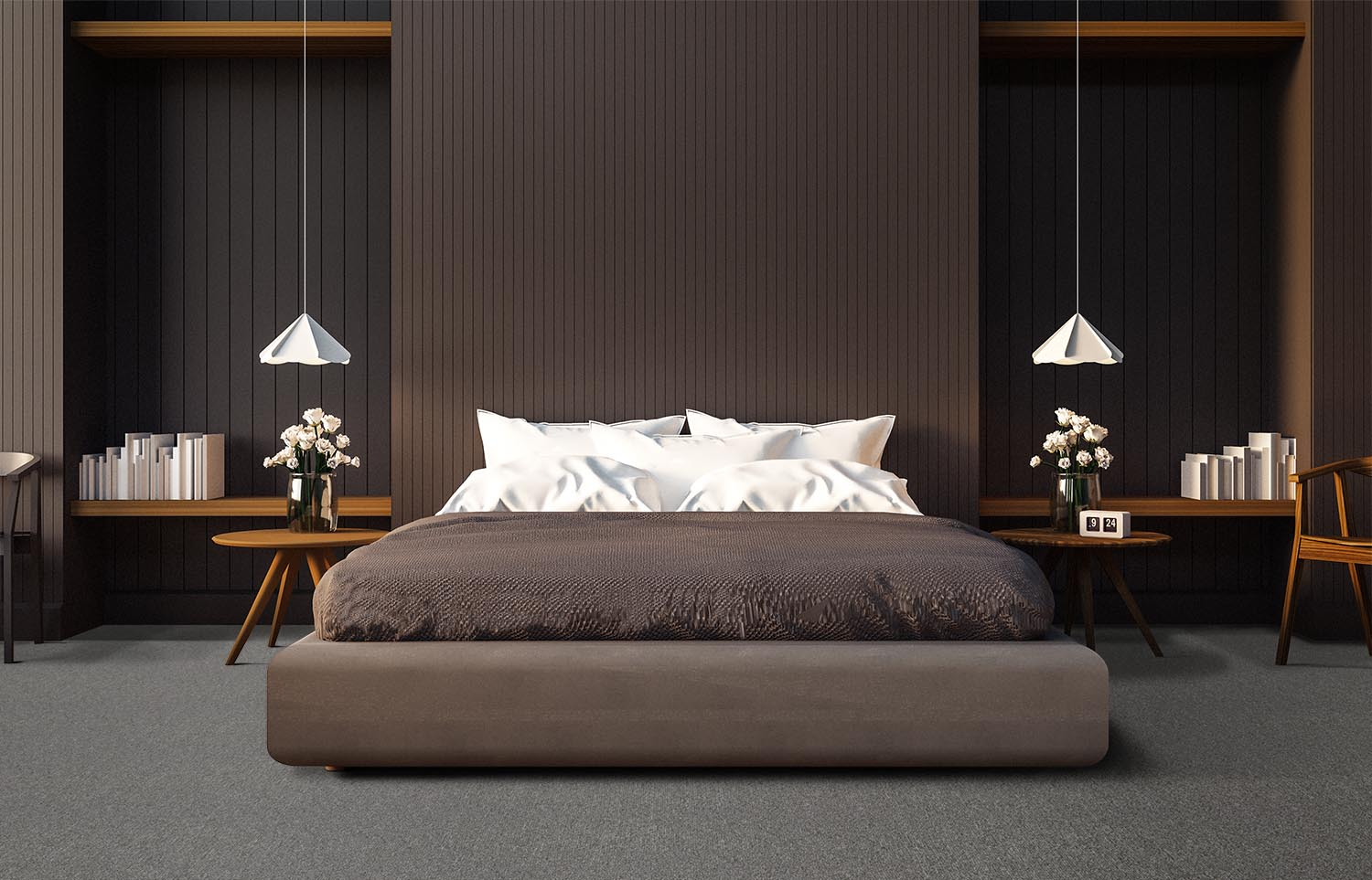 Influence - Mirror That contemporary bedroom
