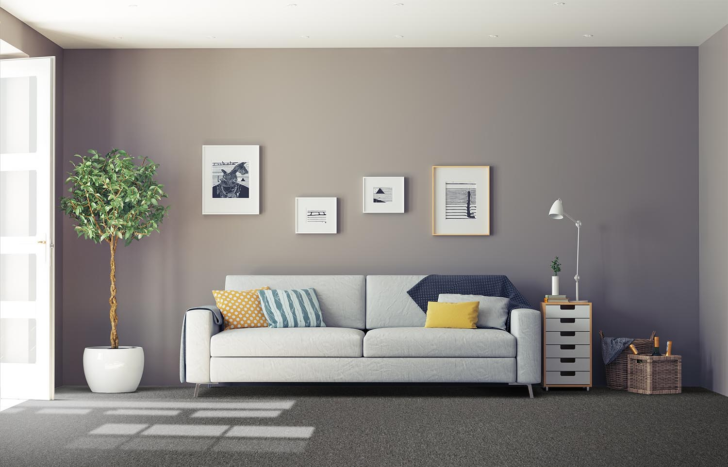 Influence - Mirror That classic living room