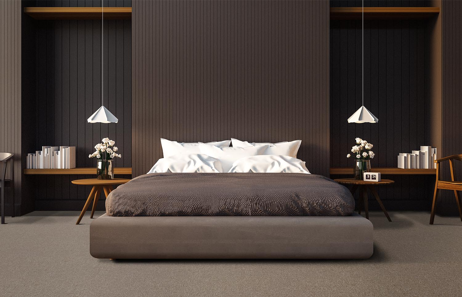 Influence - Pulse Rate contemporary bedroom