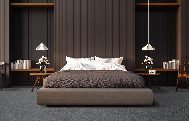 Mantra - M301 - Inky contemporary bedroom