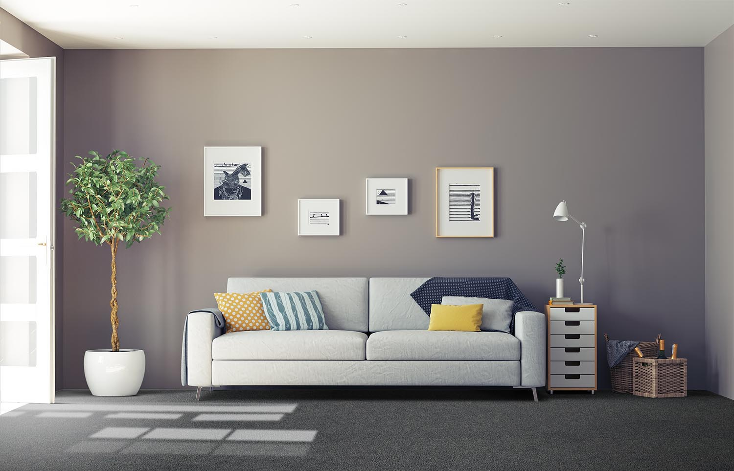 Mantra - M301 - Inky classic living room