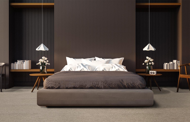 Mantra - M301 - Flaxen contemporary bedroom