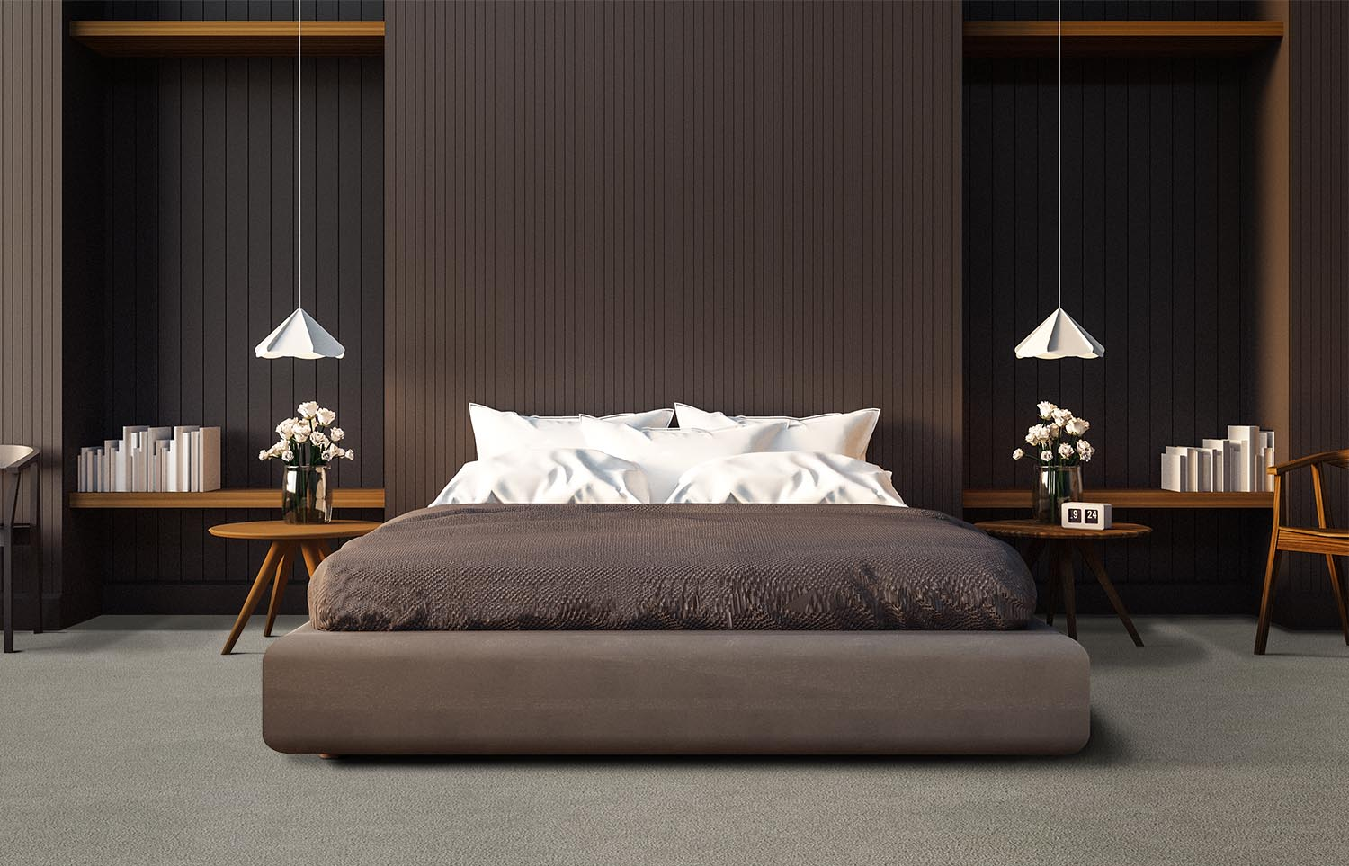 Mantra - M301 - Dusted contemporary bedroom