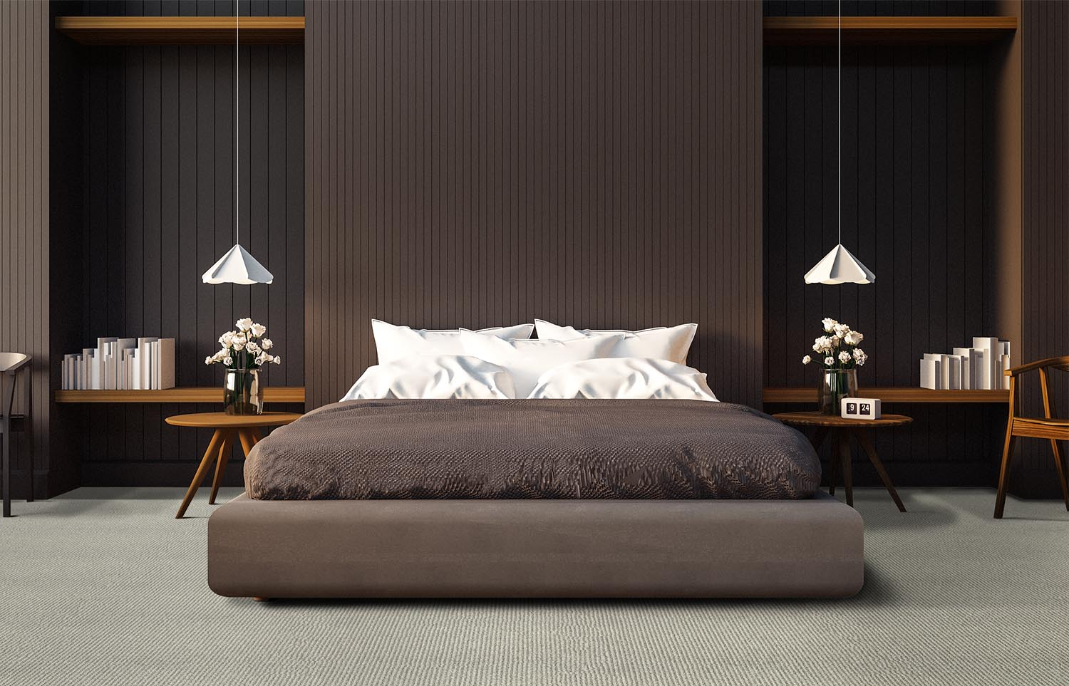 Mindful - Accept contemporary bedroom