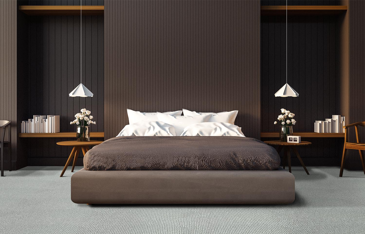 Mindful - Be Still contemporary bedroom