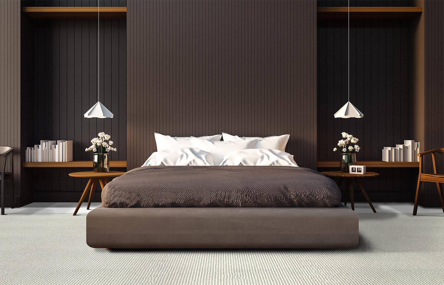 Mindful - Clarity contemporary bedroom