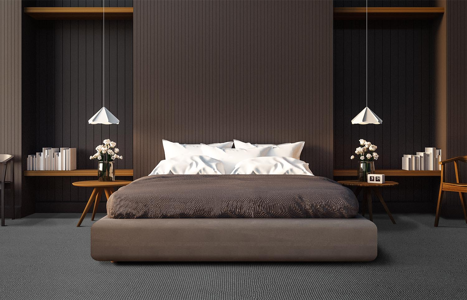 Mindful - Focus contemporary bedroom