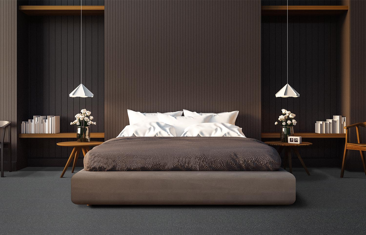 Mindful - Observe contemporary bedroom