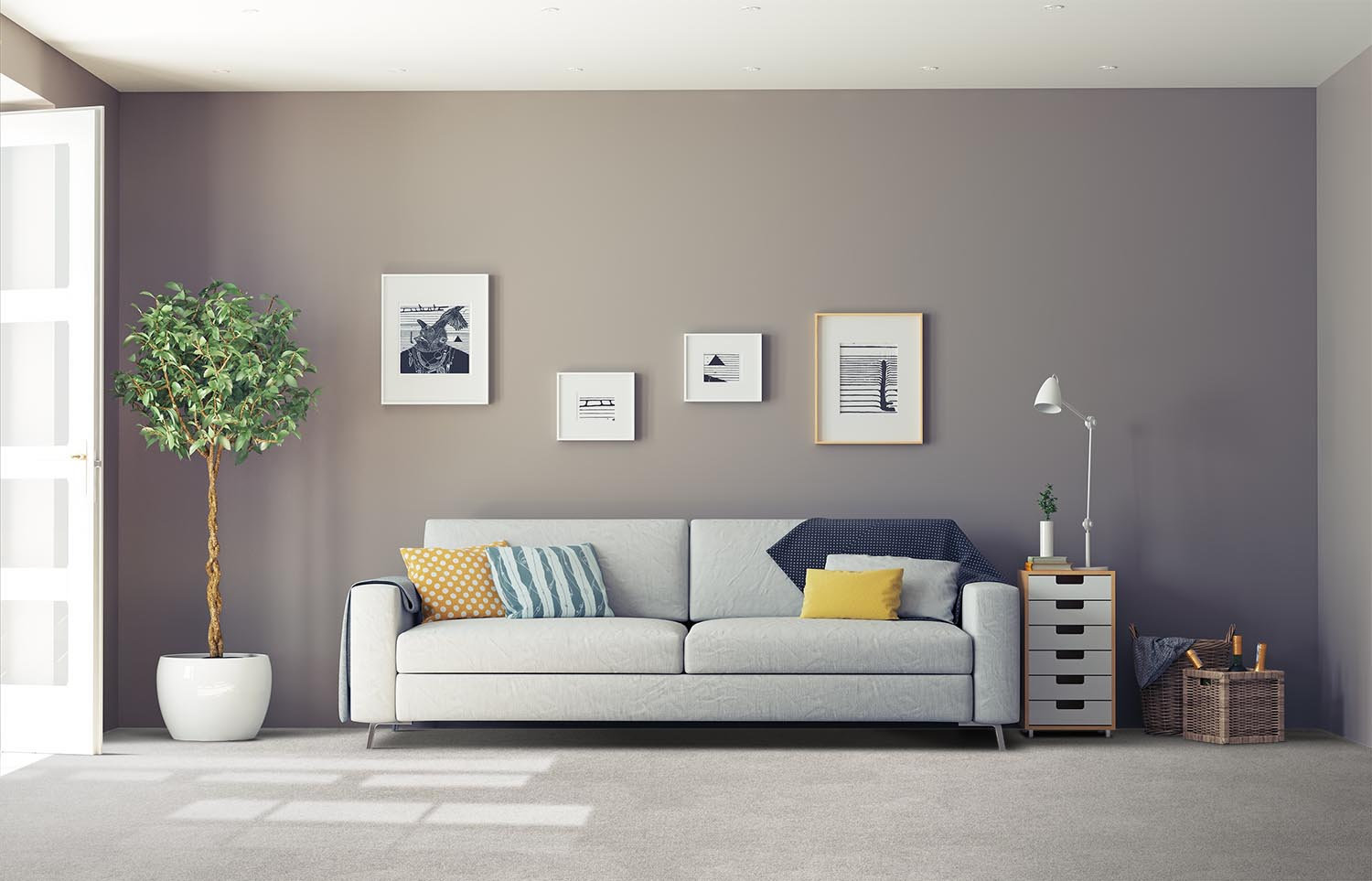 Softology - S201 - Willow classic living room