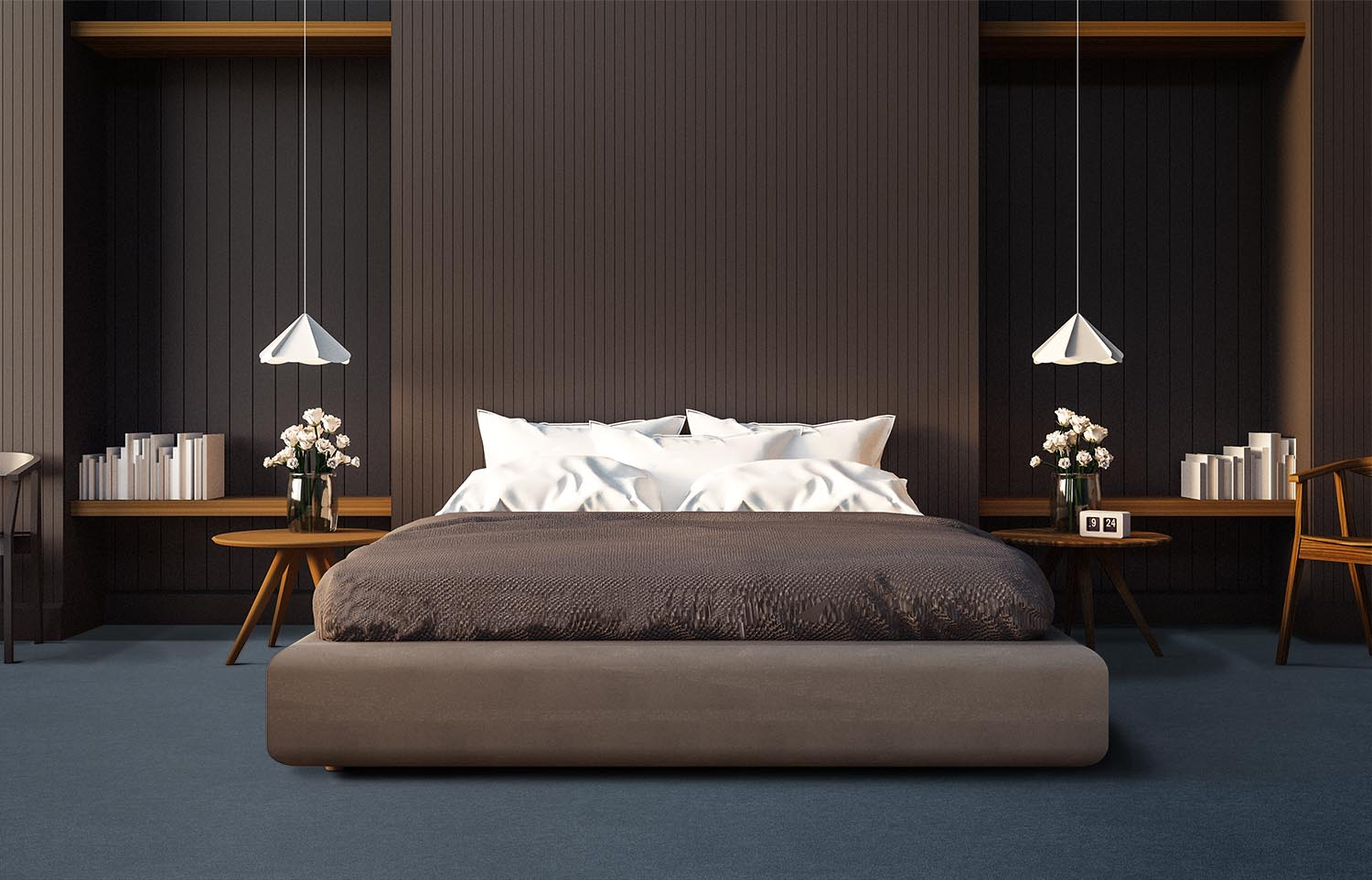 Softology - S301 - Suave contemporary bedroom