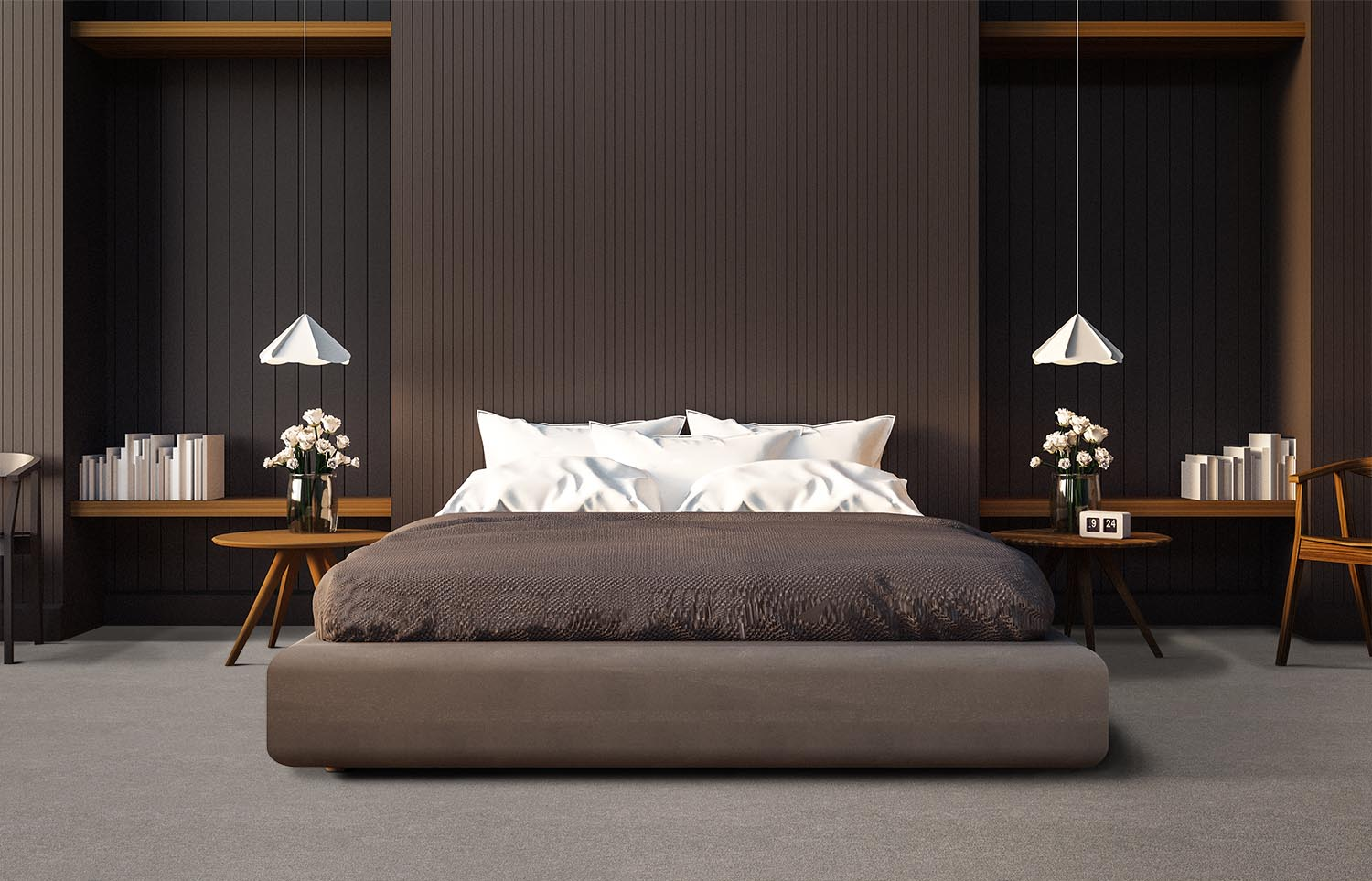 Softology - S201 - Puff contemporary bedroom