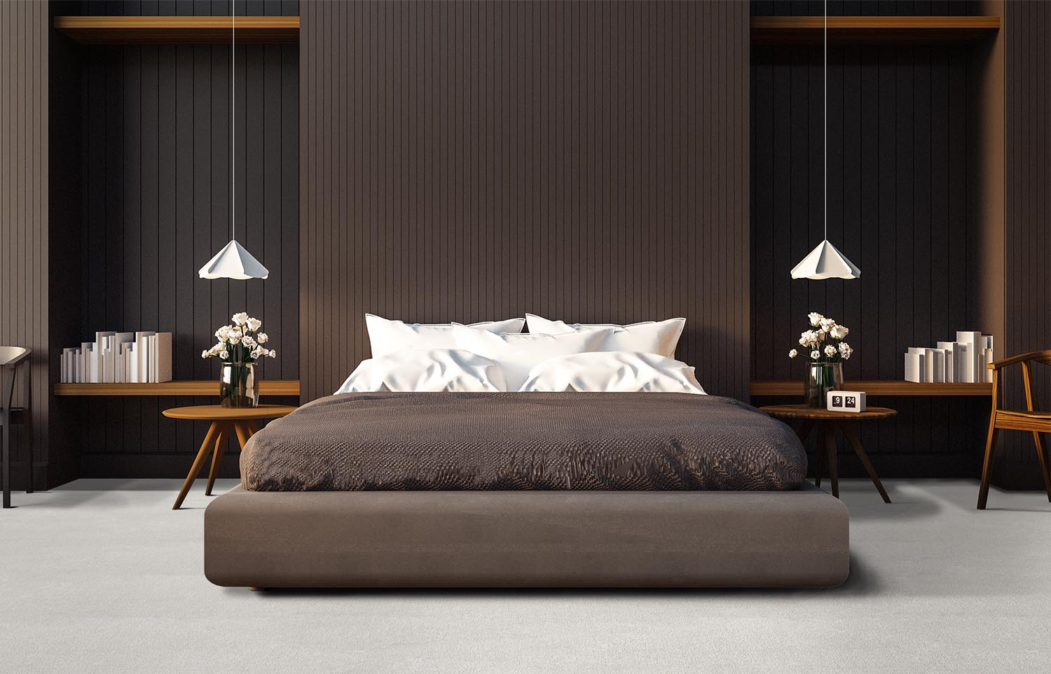 Softology - S201 - Plume contemporary bedroom