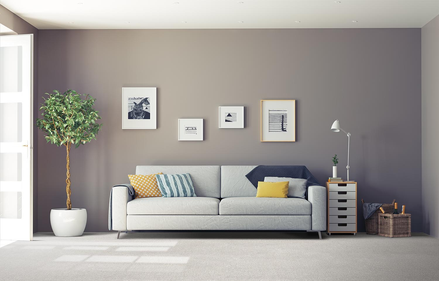 Softology - S201 - Plume classic living room