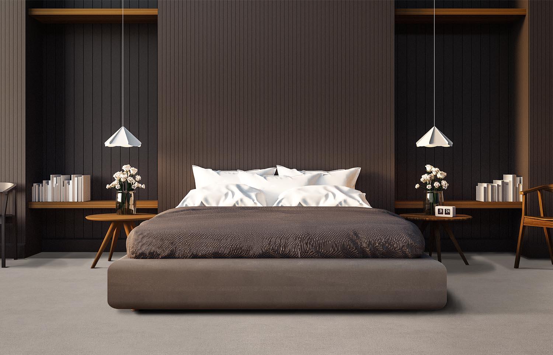 Softology - S101 - Lynx contemporary bedroom