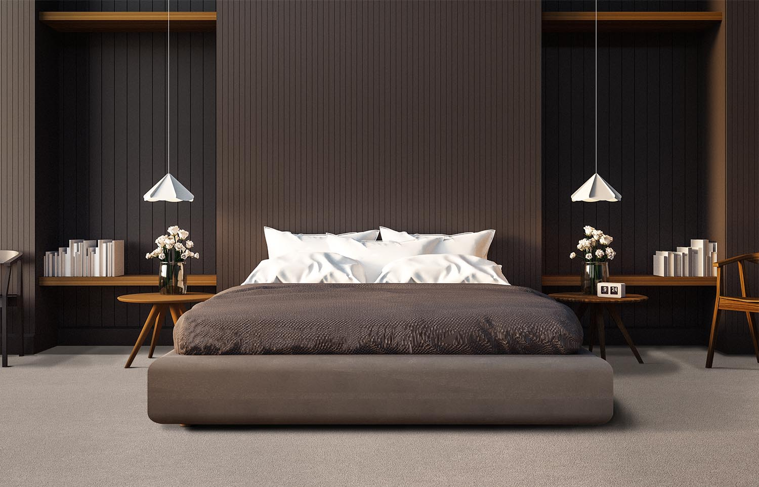Softology - S201 - Fawn contemporary bedroom