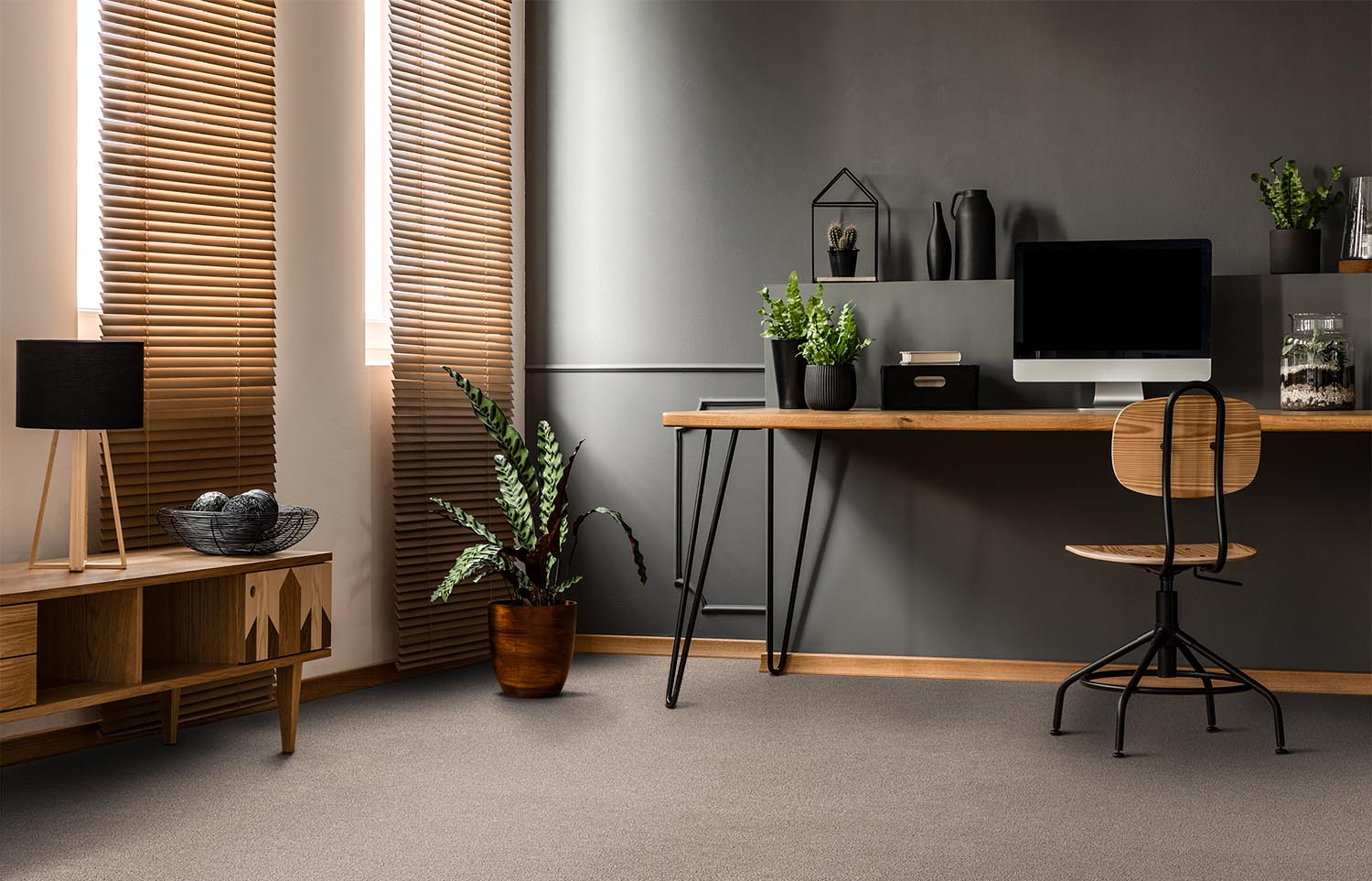 Softology - S201 - Fawn home office